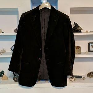 Armani Collezioni - Dark Brown Chenille Blazer 40R